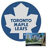 Toronto Maple Leafs Perforated Decal