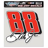 NASCAR Die-cut Dale Earnhardt Jr. Large Decal