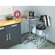 Table de bar mustang noir canadian tire for Table exterieur canadian tire