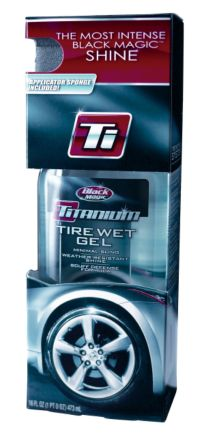 Black Magic Titanium Tire Wet Gel