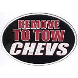 Novelty Hitch Cover - Remove to tow Chevs