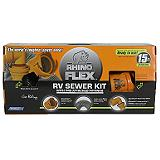 Rhino Flex RV Sewer Kit, 15-ft.