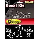 Auto Art Stick People Decal Kit