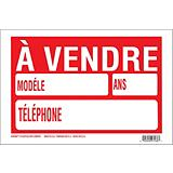 French Automotive For Sale Sign