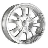DIP D10 Rim in Silver with Machined Lip