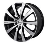 Touren TR3 wheel in Black w/ Machined Face