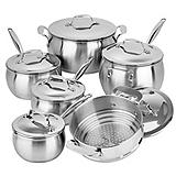 Lagostina Commercial Pro 12-Pc Cookset