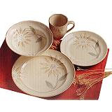 Cuisinart Sunflower Dinnerware Set, 16-Pc
