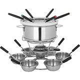 Home Presence 3-in-1 Fondue Set, 24-piece.
