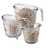 Anchor Hocking 3-pc Measuring Cup Set
