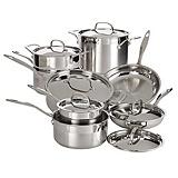 Cuisinart Precision Gourmet Cookware Set, 14-piece