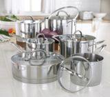 KitchenAid Straightedge Cookware Set, 12-pc
