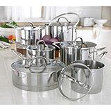 KitchenAid 12-piece Straightedge Cookware Set