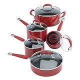 KitchenAid 10-piece Red Cookset