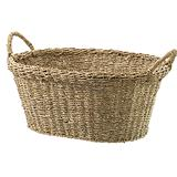 Seagrass Single Round Basket