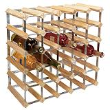 30-Bottle Wine Rack