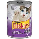 Purina Friskies Dinner Cat Food 368 g.