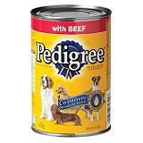 Pedigree Dog Food, Beef 630g.