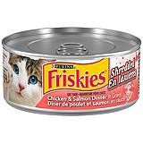 Purina Friskies Cat Food, Chicken and Salm...