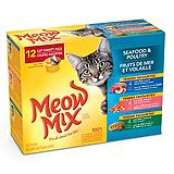 Meow Mix Market Variety Wet Cat Food, 12-Pk