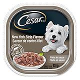 Cesar Dog Food, New York Strip