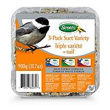 Scotts 3 Pack Suet Variety