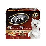 Cesar Entrees Wet Dog Food Variety Pack, 1...