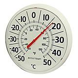 12-in. Thermometer, White