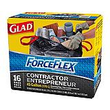 Glad ForceFlex Contractor Garbage Bags