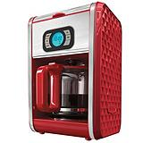 Bella Diamonds Coffeemaker Red, 12 Cup