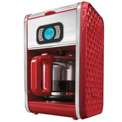 Keurig Coffee Maker At Canadian Tire : Canadian Tire - Bella Diamonds Coffeemaker Red, 12 Cup customer reviews - product reviews - read ...