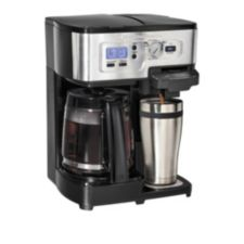 Single Cup Coffee Maker Canadian Tire : Hamilton Beach 2-Way Deluxe Coffee Maker Canadian Tire