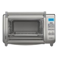 Black Amp Decker Countertop Convection Oven 6 Slice