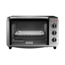 Black Amp Decker Convection Toaster Oven 6 Slice Canadian