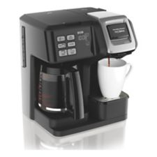 Single Cup Coffee Maker Canadian Tire : Cafetiere a double mode d infusion Hamilton Beach FlexBrew Canadian Tire