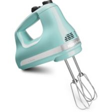 Kitchenaid 5 Speed Ultra Power Hand Mixer Aqua Sky