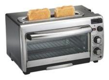 Hamilton Beach Oven Plus Long Slot Toaster 6 Slice