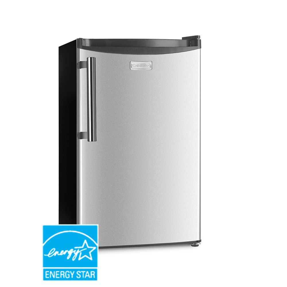 Cuisinart 3.3 cu.ft. Stainless Steel E-Star Compact Refrigerator