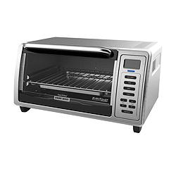 Countertop Convection Oven Canadian Tire : ... Reviews for Black & Decker Kitchen Tools Digital Toaster Oven, 4-slice