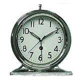 Debbie Travis Silver Desk Clock