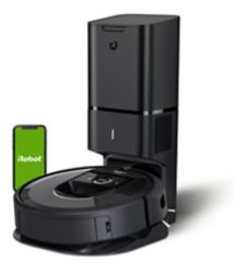 I Robot Roomba I7+ Wi Fi Connected Robot Vacuum With Automatic Dirt Disposal by Canadian Tire