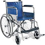 Chrome Frame with Padded Seat Wheelchair
