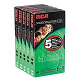RCA Video Tape 5-pack