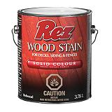 Rez Deck, Fence and Siding Oil-Based Stain, Solid