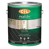 CIL Realife White 3.7 L Acrylic Latex Door and Trim Semi-Gloss Paint