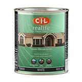 CIL Realife White 946 mL Exterior Semi-Gloss White Paint