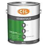 CIL Essentials White 3.7 L Interior Latex ...