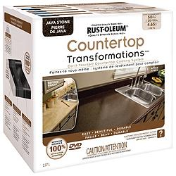 Countertop Paint Canadian Tire : Canadian Tire Rust-Oleum Rust-Oleum Stone Effects, Step 3 Counter Top ...