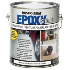 Peinture plancher en b ton rust oleum epoxyshield 3 78 l - Peinture rust oleum ...