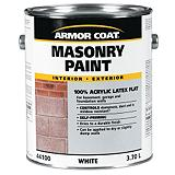Armor Coat 3.7 L White Acrylic Latex Mason...